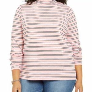 NWT TOMMY HILFIGER   Pink Striped Long Sle…